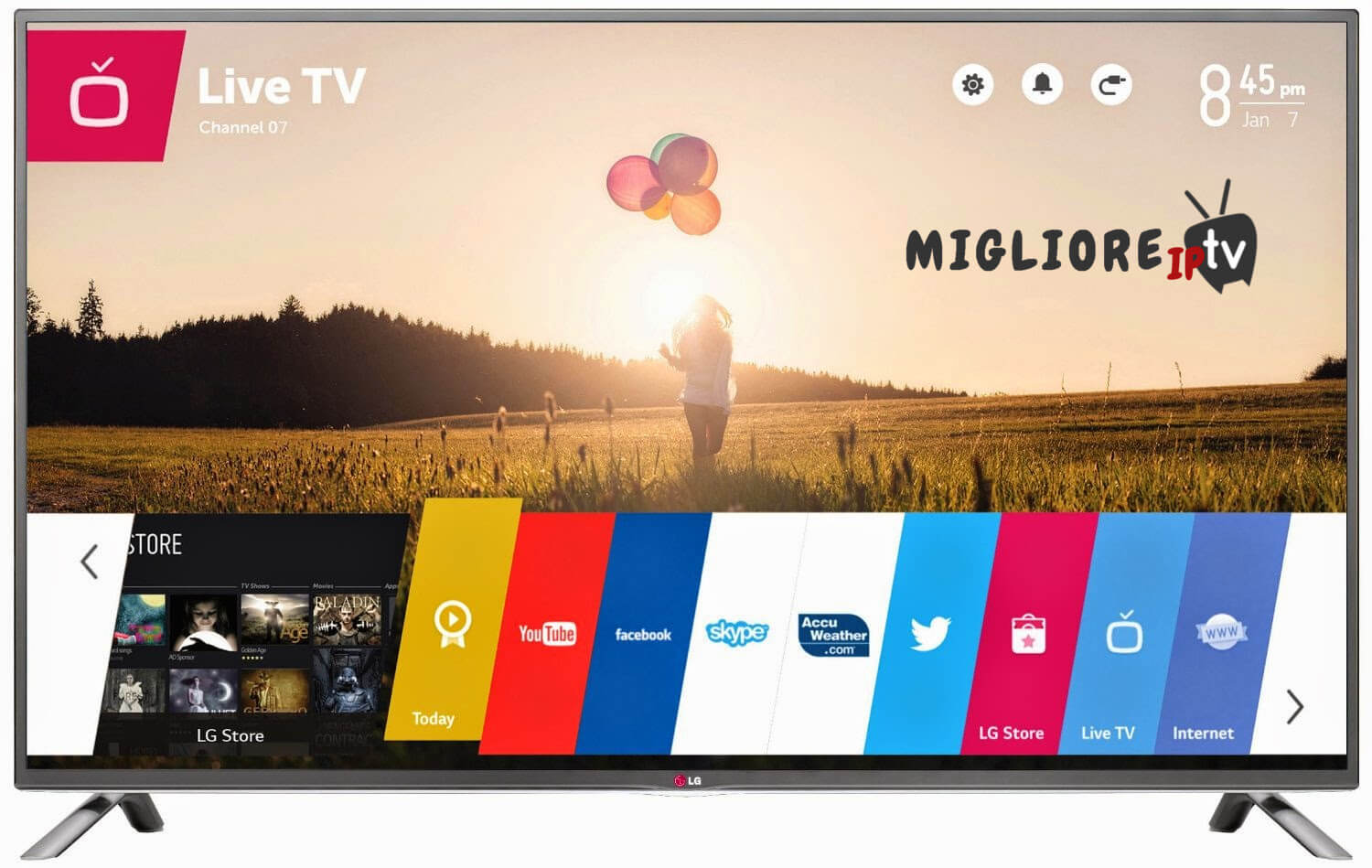 raiplay su smart tv samsung