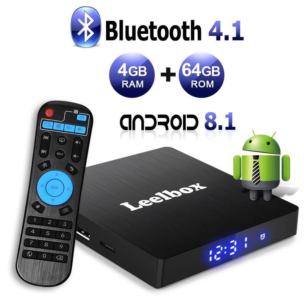 Leelbox Q4 Max RK3328
