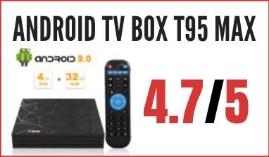 Decoder Android TV Box T95 MAX: prezzo, opinioni e recensione