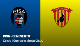 Pisa-Benevento, diretta streaming gratis e tv: dove vederla