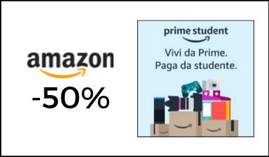 Amazon Prime Student: 3 mesi gratis poi abbonamento a soli 18€ all'anno!
