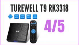 Recensione Decoder Android Turewell T9 + Telecomando per IPTV