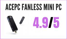 Recensione ACEPC Fanless Mini PC Windows 10 Pro Bluetooth