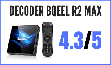 Recensione Decoder Bqeel Android 10.0 TV Box R1 PLUS