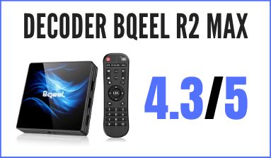 Decoder Bqeel Android 10.0 TV Box R1 PLUS