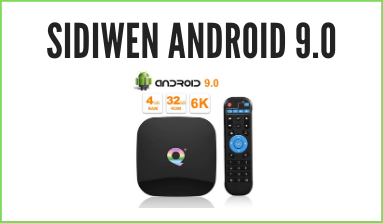 Recensione Sidiwen Android 9.0 TV BOX Q Plus